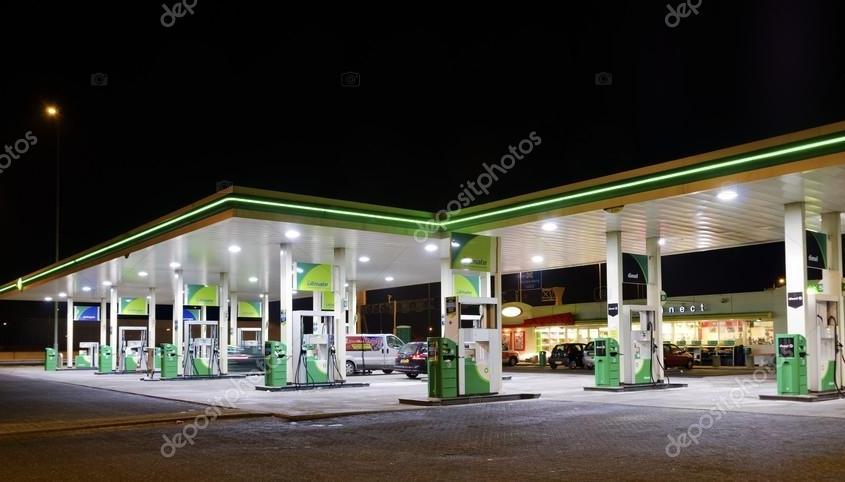 Közforgalmú éjjel - zöld