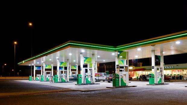 Közforgalmú benzinkút